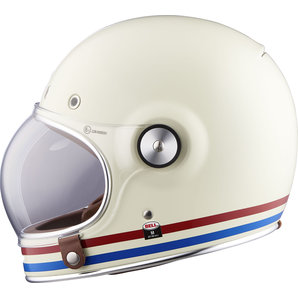 Bell Full Face Helmet >> Buy Bell Bullitt Dlx Full Face Helmet Stripes Pearl White Louis