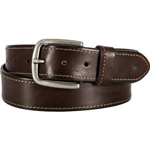 Leather belt DL-AC-1 Brown