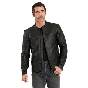 Light leather jacket