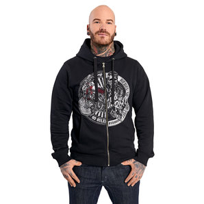 King Kerosin No Rules zip-hoodie