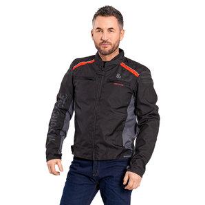 huge discount 03325 3a8c4 Louis 80 anni giacca sportiva nero/rosso