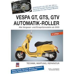 BOOK: VESPA GT,GTS,GTV