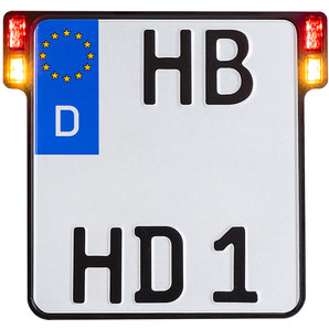 All-In-One 2.0 licence plate