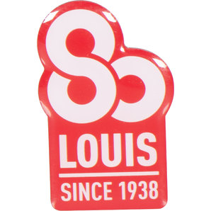 *LOUIS 80* BADGE/PIN