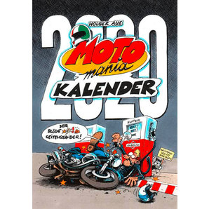 Achat Calendrier 2020.Motomania Calendrier 2020 Grand Format 420 X 594 Mm