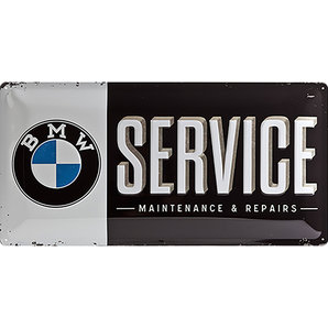 "Metal Sign BMW ""Service"""
