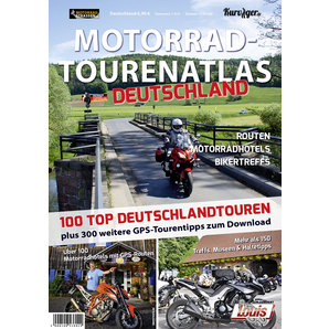 Atlante itinerari in moto Germania