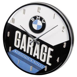 Acheter Horloge Murale Bmw Garage Diametre 31cm Louis Motos Et