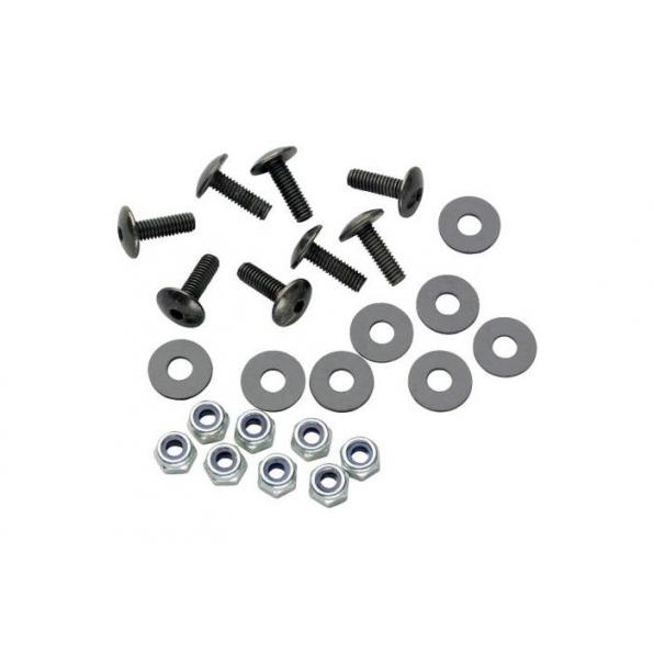 SCREW-SET FOR WINDSHIELDS