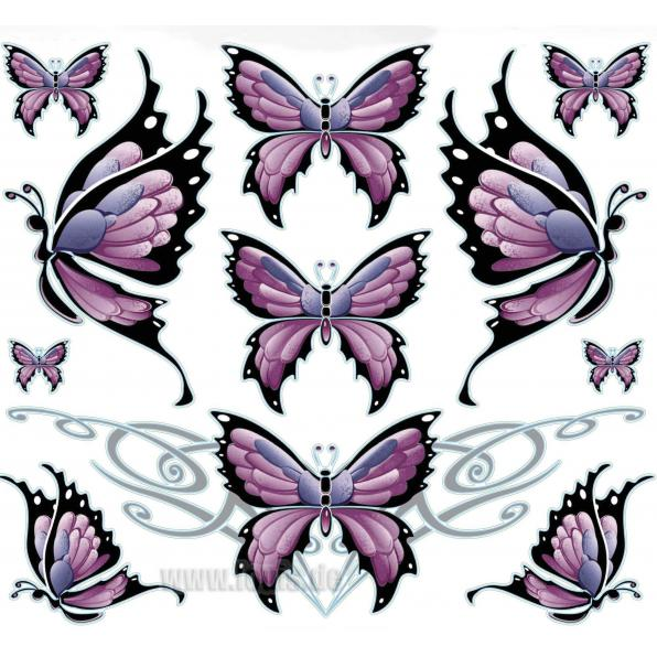 BUTTERFLY SHEET DECAL