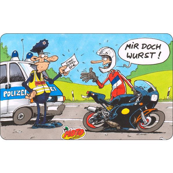 MOTOMANIA FRÜHSTÜCKSBRETT
