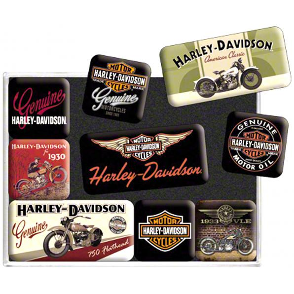 MAGNETSET*HARLEY DAVIDSON