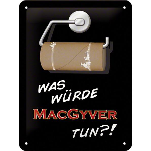 BLECHSCHILD *MAC GYVER*