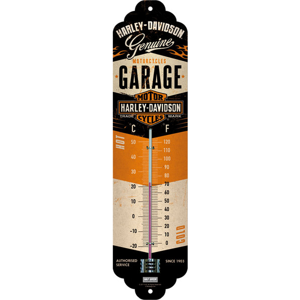 THERMOMETER H-D GARAGE