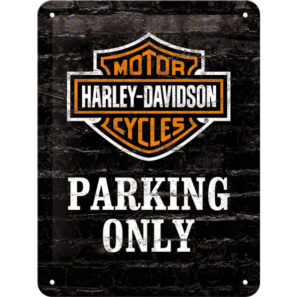 BLECHSCHILD *H-D PARKING*