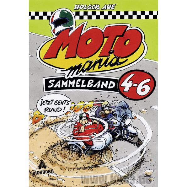 MOTOMANIA COMICS BAND 4-6