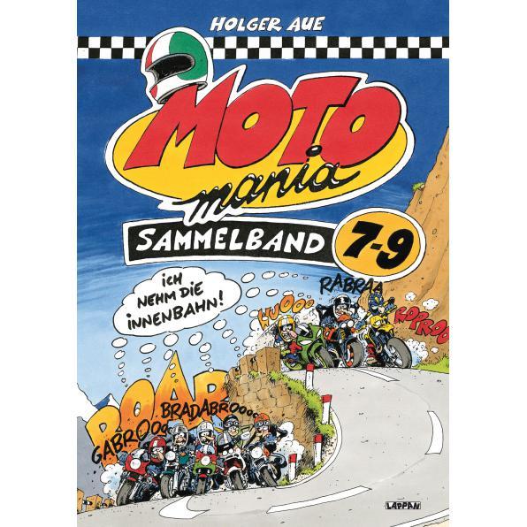 MOTOMANIA COMICS BAND 7-9