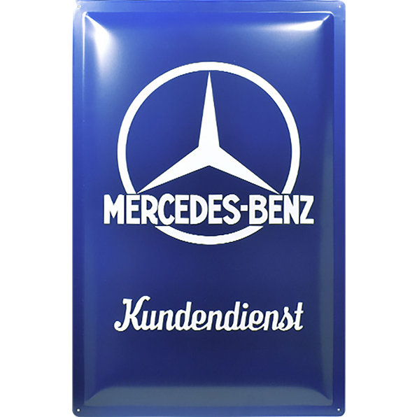 BLECHSCHILD MERCEDES-BENZ
