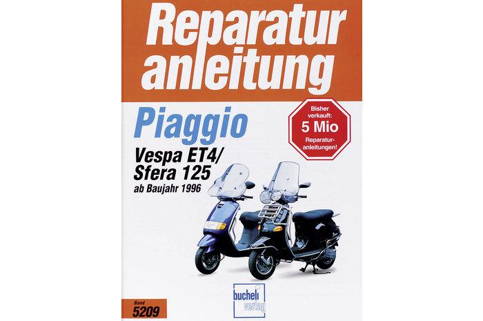 Motul  Scooter Öl teilsyn Ölfilter Vespa 125 ET4 Bj 00-05