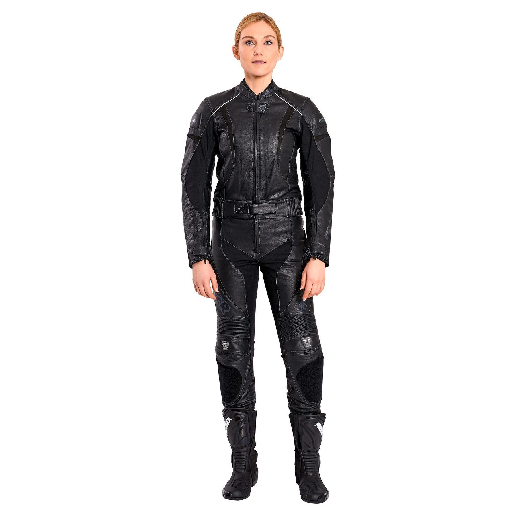 A-pro Bandana Motard Moto Cuir Vachette Custom Chopper Style Vetements noir