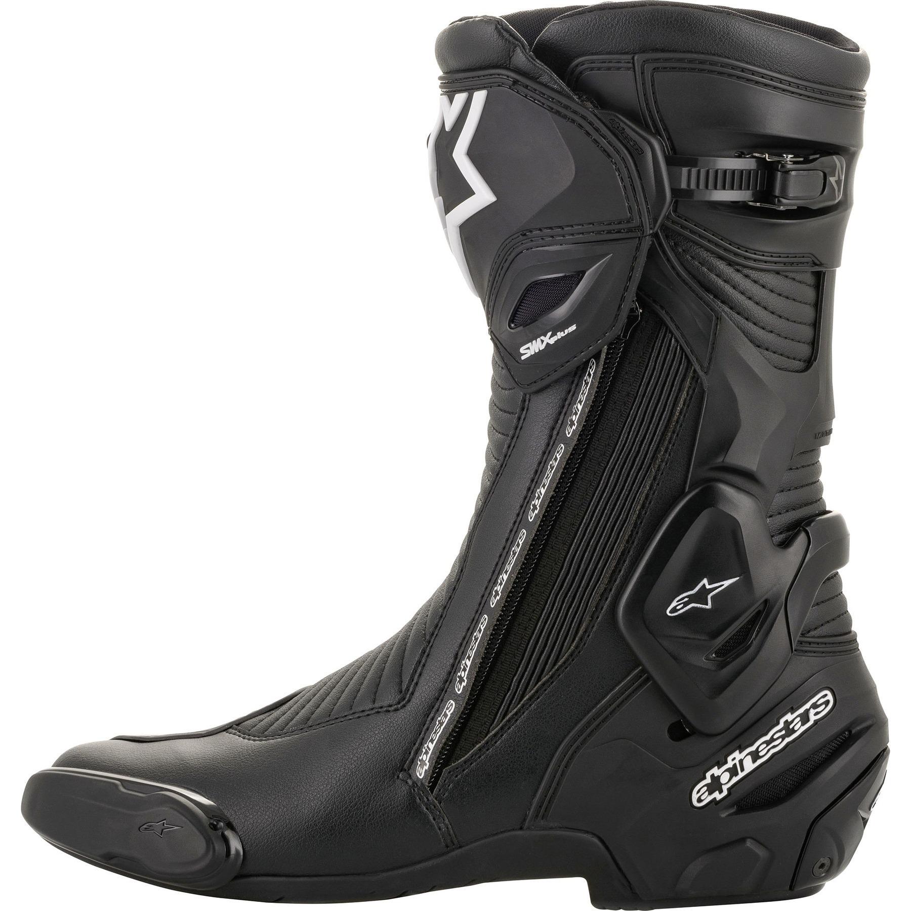 Black//White 47 Alpinestars SMX S Boots