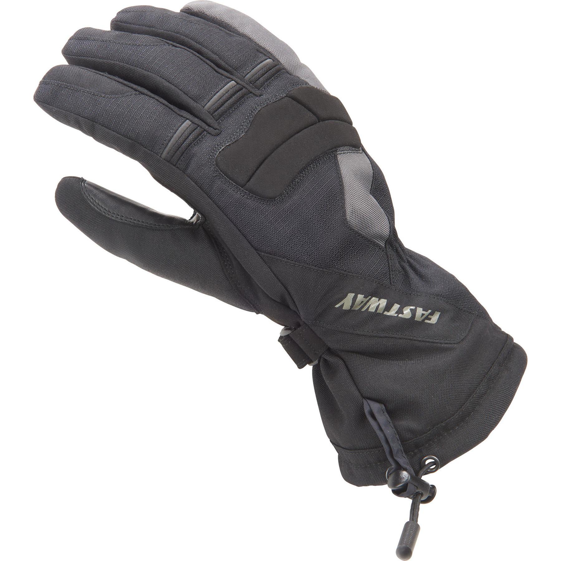 Winter Cycling Handlebar Mitts Bike Motorcycle Gloves Waterproof pu Leather New