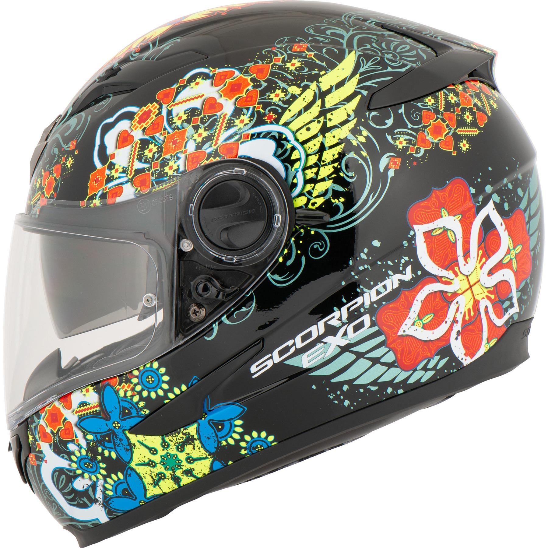 Scorpion EXO 1000 500 490 Motorcycle Helmet Replacement Spare Dark Smoke Visor