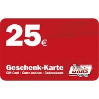 25,- GESCHENK-KARTE
