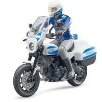 DUCATI POLICE MOTORCYCLE INCL. BIKE+POLICEMAN
