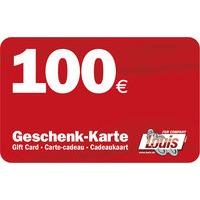 CARTE CADEAU DE 100 EUR