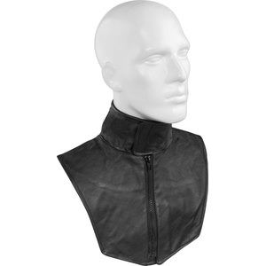 Classci leather-neck warmer
