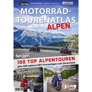 "Motorcycle Touring Guide - ""Alps"""
