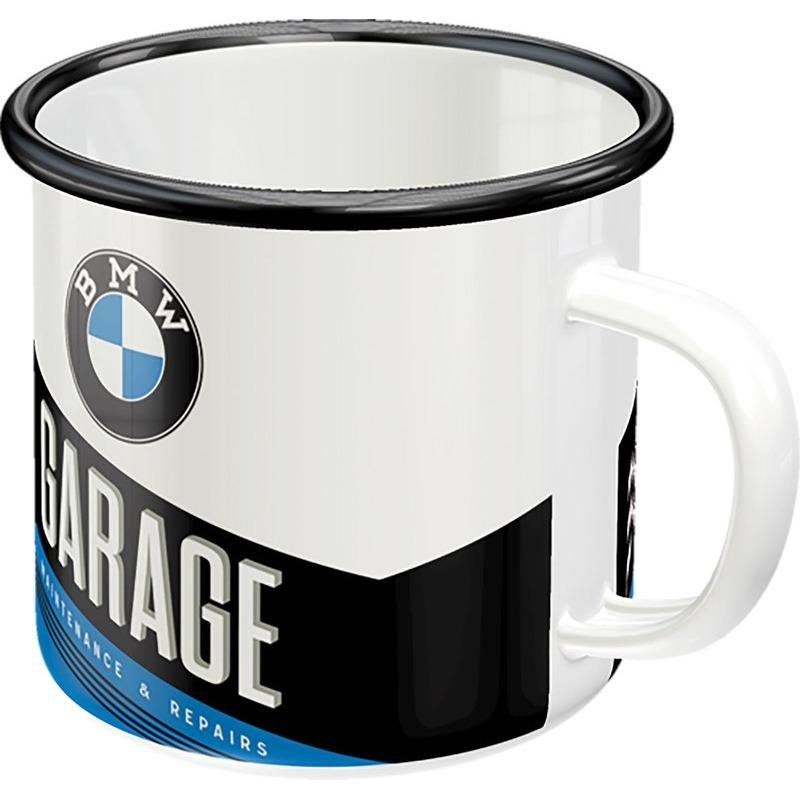 EMAILLE BECHER BMW GARAGE