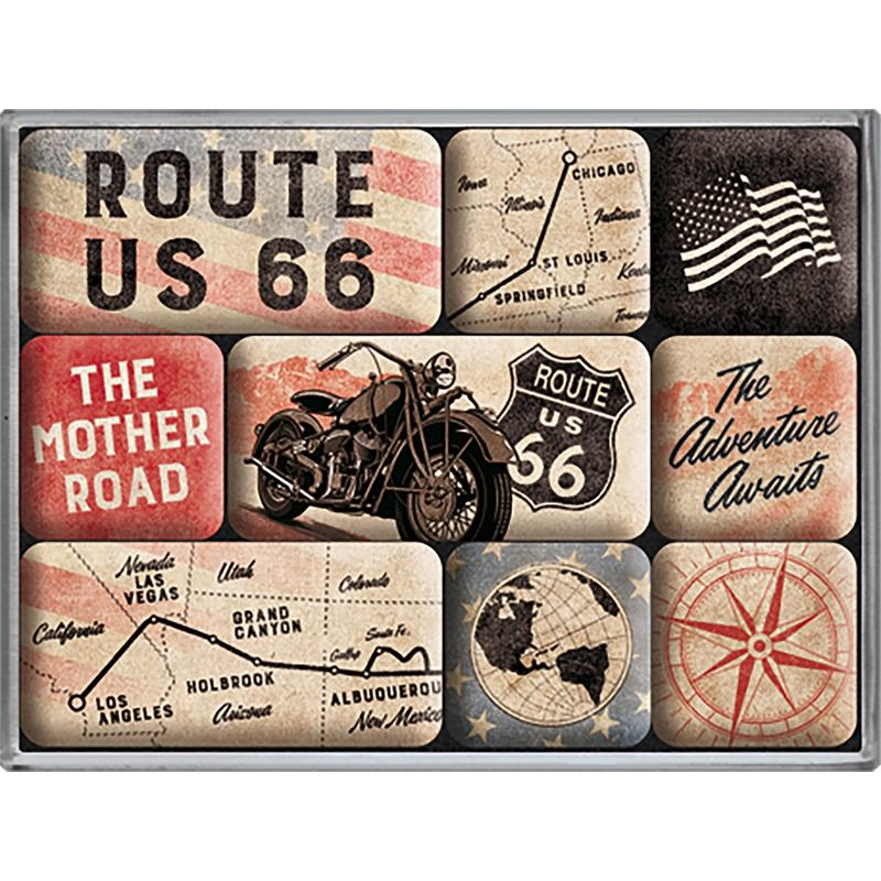 MAGNETSET *ROUTE 66*