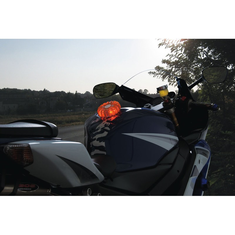 AVERT. LUM. LED MOTO112+