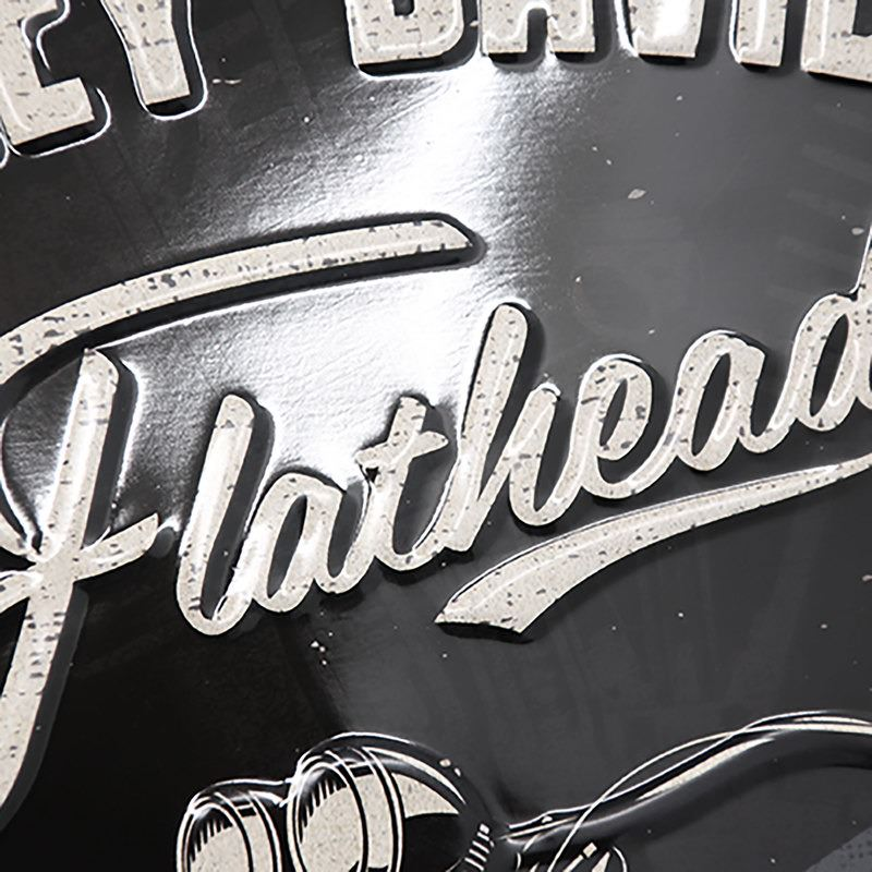 BLECHSCHILD H-D *FLATHEAD