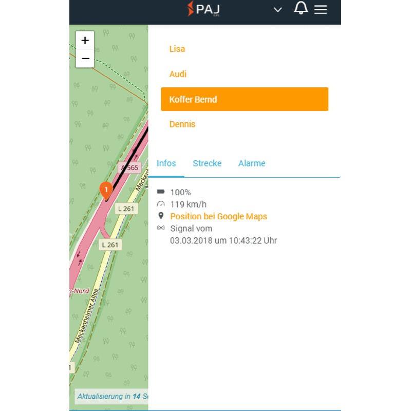 ALLROUND FINDER GPS-