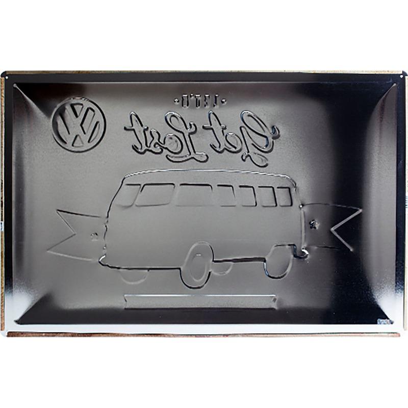 BLECHSCHILD VW BULLI