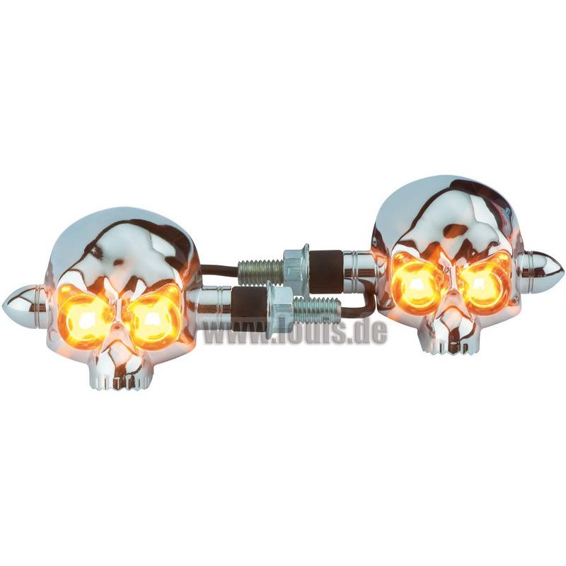 LED-BLINKER SKULL