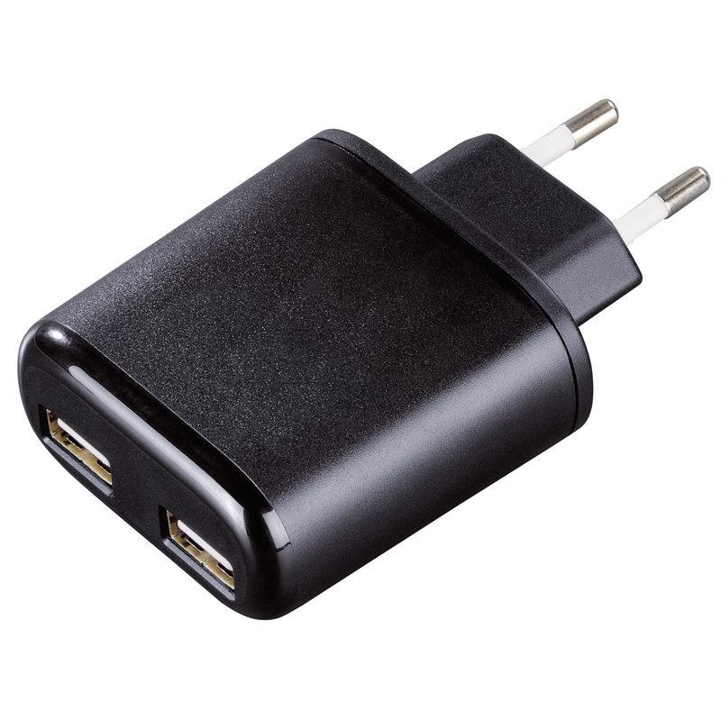 HAMA DOPPEL USB-NETZLADE-