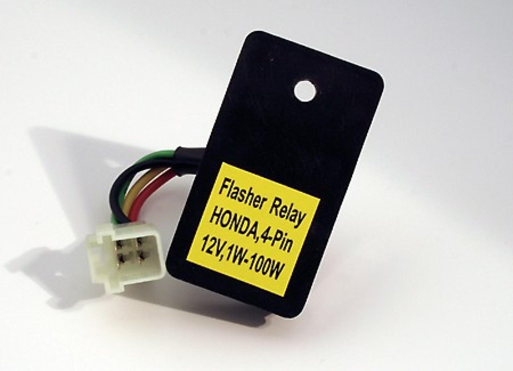 Electronic Flasher Unit, 40 Poles On Various Honda Models