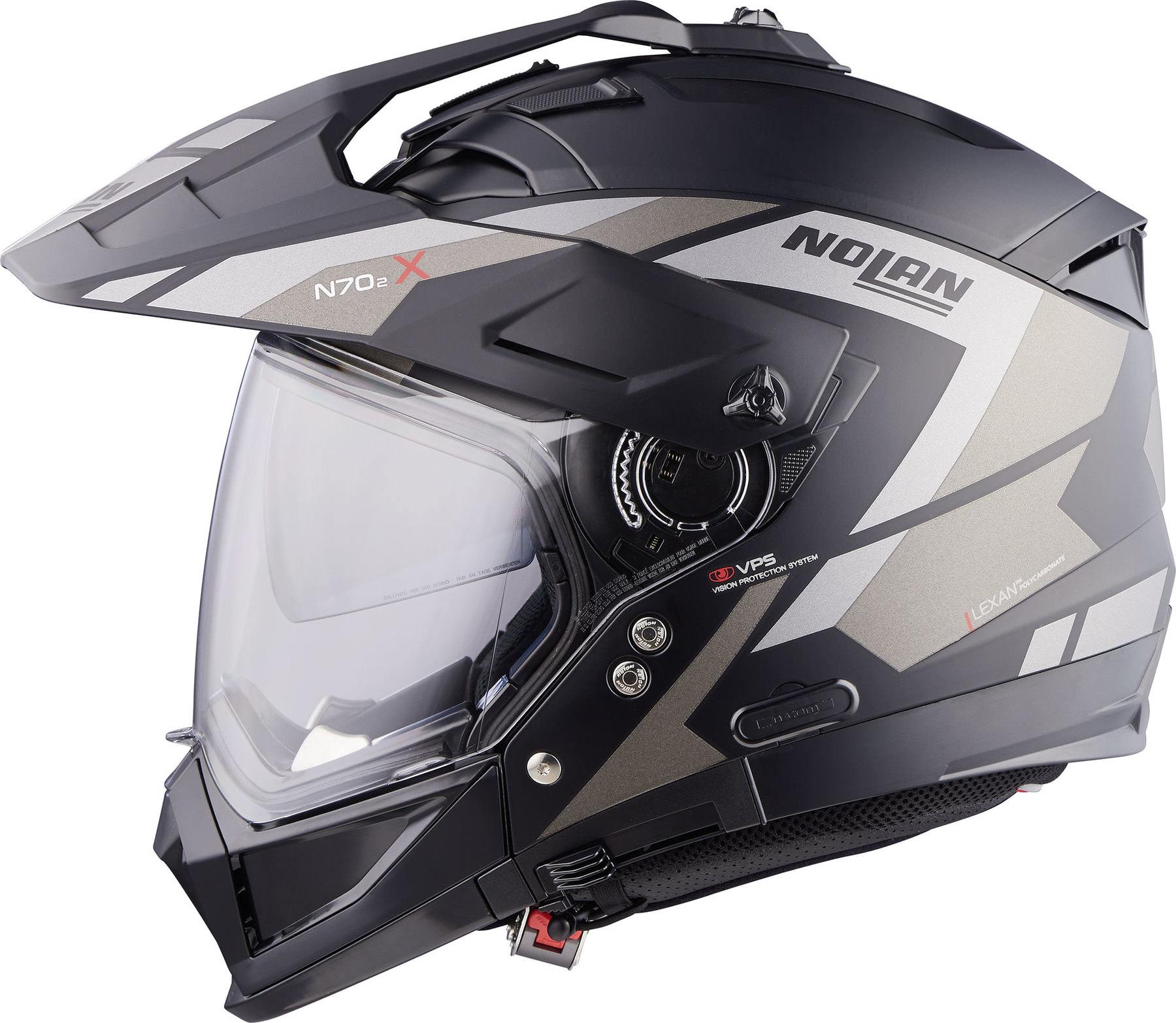 NOLAN N70-2 X Grandes Alpes Metal White L