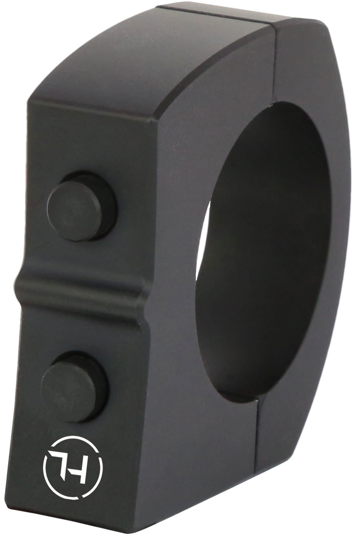 HIGHSIDER CNC Tasterschalter mit 2 Taster Aluminium schwarz