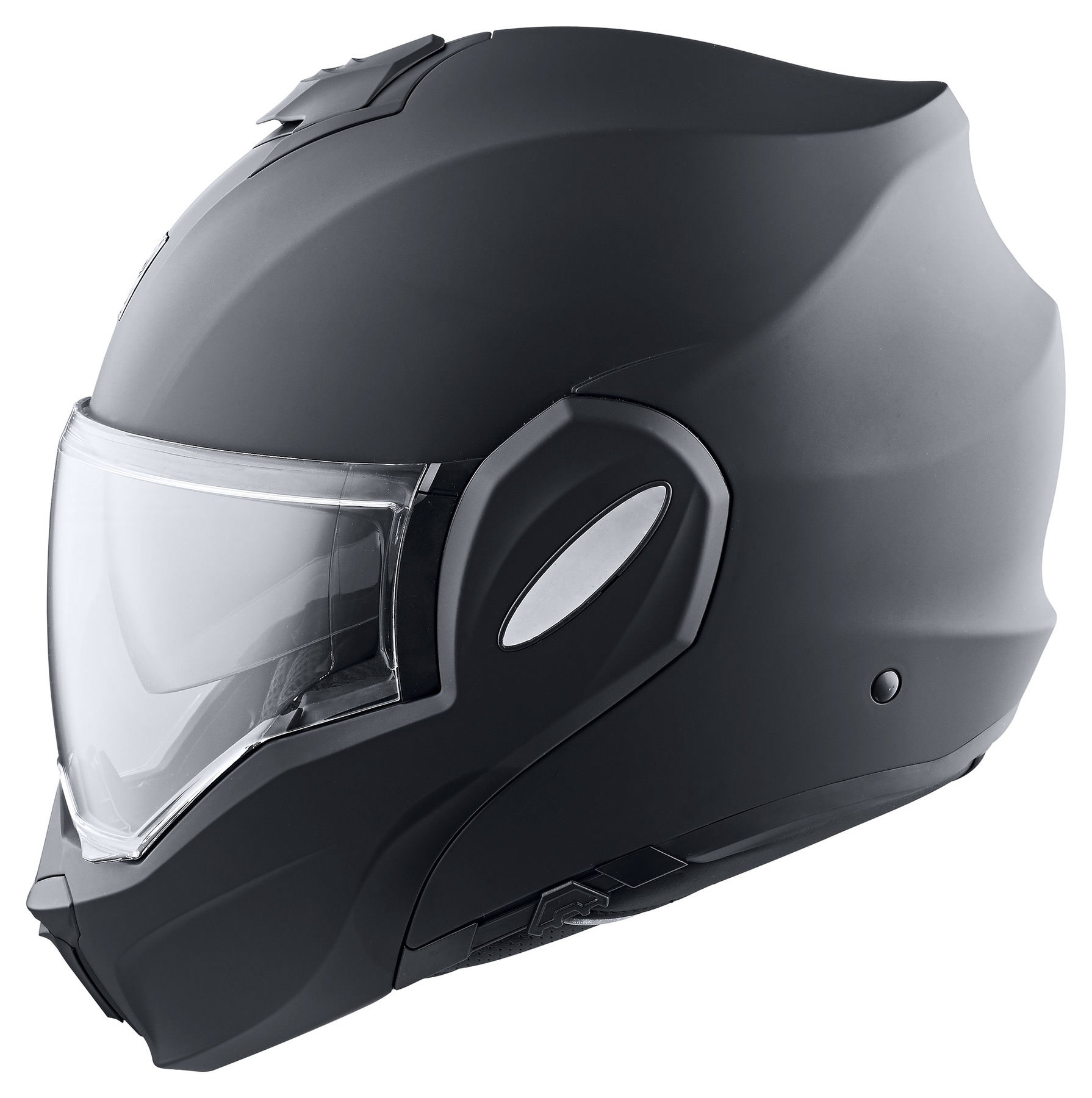 New! Scorpion EXO-TECH Solid Matte Black Modular Motorcycle Helmet Flip-Up
