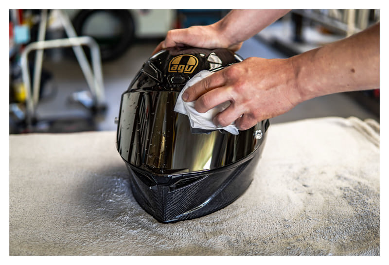 S100 VISOR+HELMET CLEANER