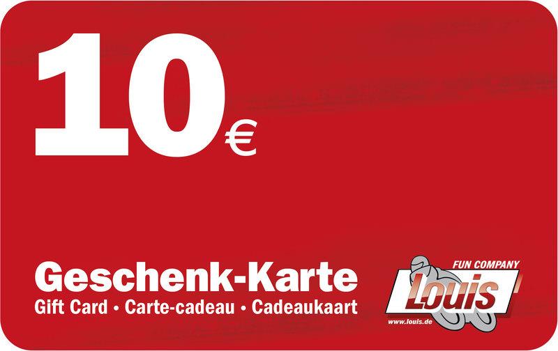 10,- EURO GESCHENK-KARTE