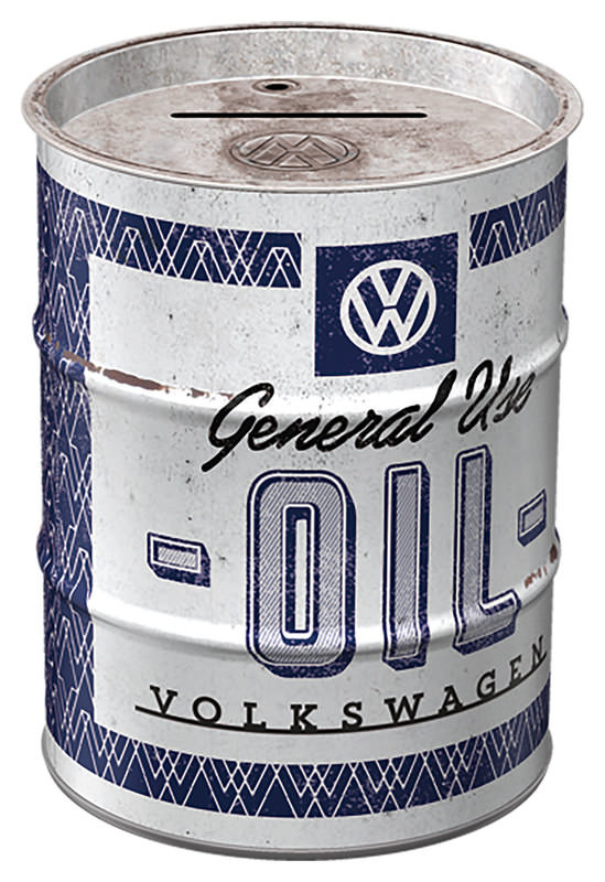 SPARDOSE ÖLFASS VW