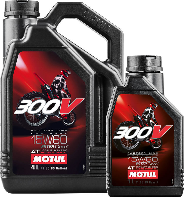 MOTUL 300V 4T 15W-60