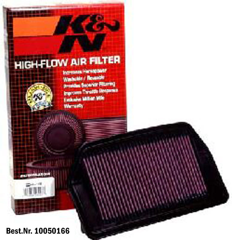 K&N HIGH-FLOW AIRFILTER