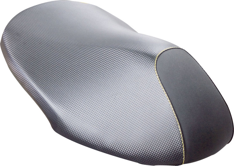 SEAT COVER, CARBON-LOOK